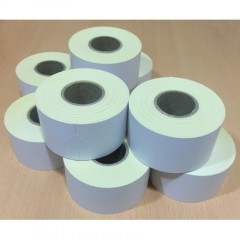 CSG PLAIN WHITE CONTINUOUS THERMAL PAPER ROLLS | weighingscales.com