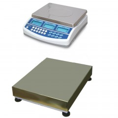 CSG BCD DUAL SCALE REMOTE BASE COUNTING SYSTEM | weighingscales.com
