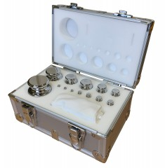 BOXED SET OF STAINLESS STEEL CALIBRATION WEIGHTS | weighingscales.com