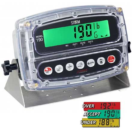 CARDINAL 190 STORM DIGITAL WEIGHT INDICATOR