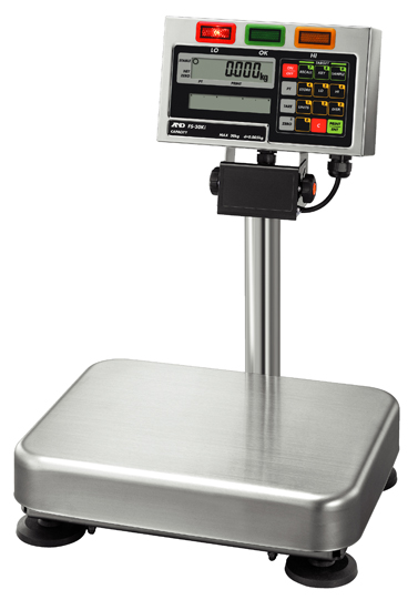 A&D FS-i SERIES Wet area check-weighing scales