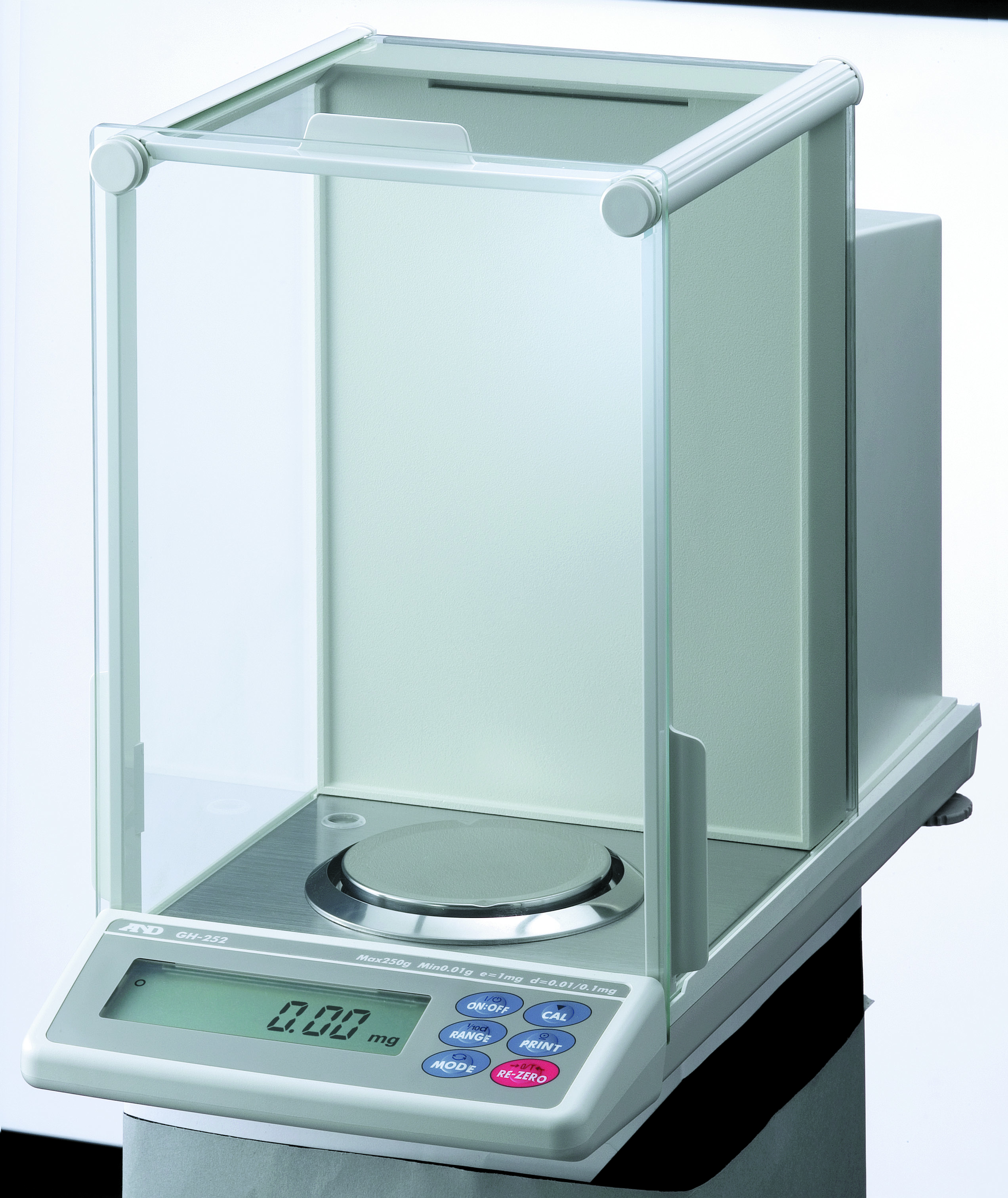 A&D GH SERIES ANALYTICAL BALANCE ULTRA HIGH PRECISION WITH EC APPROVAL