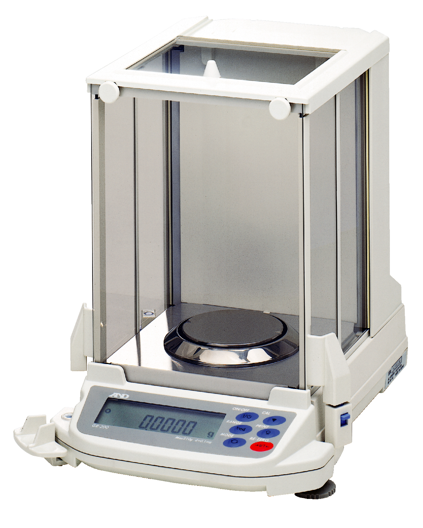A&D GR SERIES SEMI-MICRO ANALYTICAL BALANCE WITH AUTOMATIC SELF-CALIBRATION