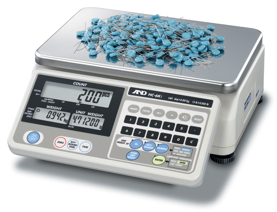 A&D HC-i SERIES GREAT VALUE COUNTING SCALE
