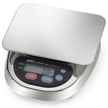 A&D HL-WP WATERPROOF SCALE