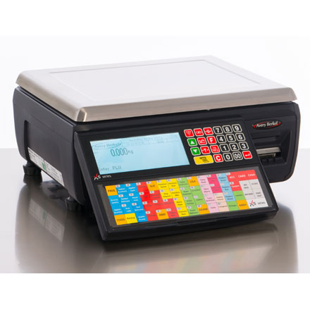 AVERY BERKEL Xs SERIES LABEL AND RECEIPT PRINTING RETAIL SCALES