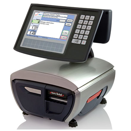 AVERY XTs SERIES TOUCHSCREEN PRINTING RETAIL SCALE