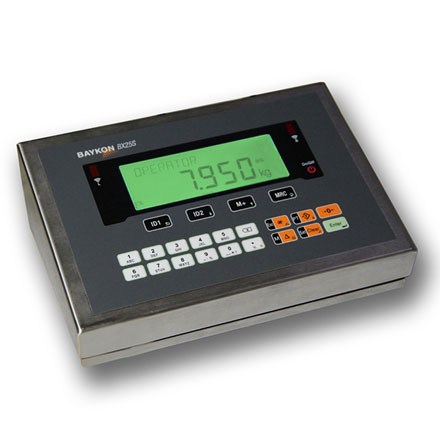 BAYKON BX25 WEIGHING TERMINAL