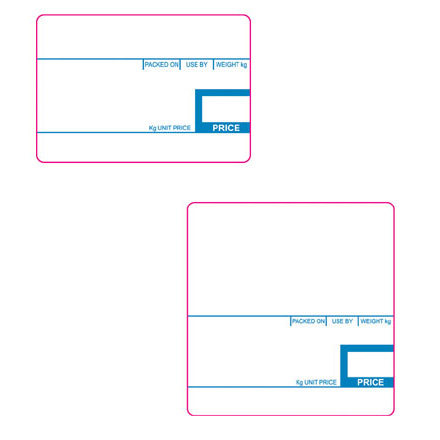 CSG PREMIUM DIRECT THERMAL CAS LABELS