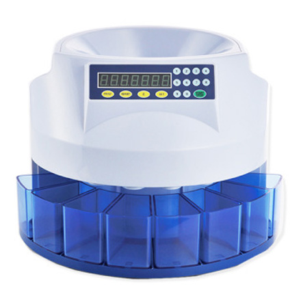 DB-360 COIN SORTER COMPACT SELF-CONTAINED UNIT