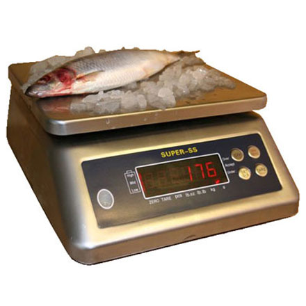 SUPER-SS WATERPROOF BENCH SCALE *REDUCED PRICE STOCK*