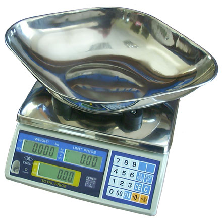 EXCELL FD-110 DIGITAL RETAIL SCALES *REDUCED PRICE ITEM*