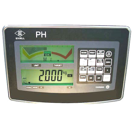 EXCELL PH IP-67 CHECK-WEIGHING INDICATOR