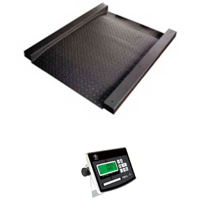 EXCELL PW-DT DRIVE-THROUGH PLATFORM SCALE