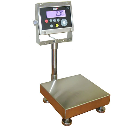 GRAM PRECISION K3i FOODSAFE IP68 STAINLESS PLATFORM FLOOR SCALE