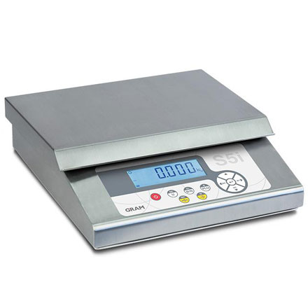 GRAM PRECISION S5i STAINLESS BENCH SCALE