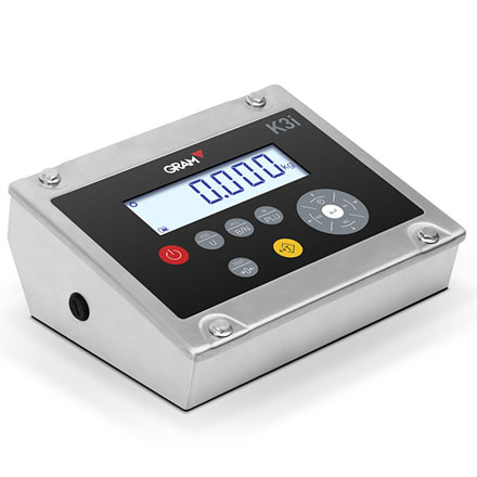 GRAM PRECISION K3i WATERPROOF FOODSAFE STAINLESS BENCH SCALE