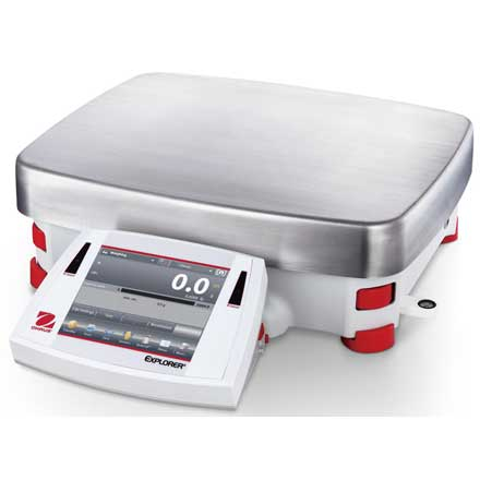 OHAUS EXPLORER HIGH CAPACITY BALANCE AUTOMATIC INTERNAL CALIBRATION SYSTEM