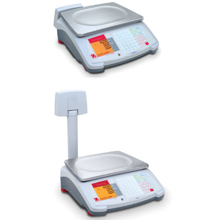 OHAUS SKIPPER 5000 TICKET PRINTING RETAIL SCALE