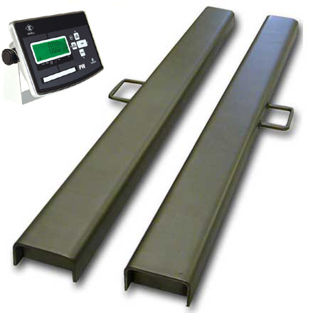 VALUEWEIGH STAINLESS STEEL LOW-PROFILE WEIGHBEAMS *REDUCED PRICE STOCK*