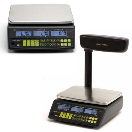 AVERY FX 50 RETAIL SCALES Easy to use price-computing retail scales