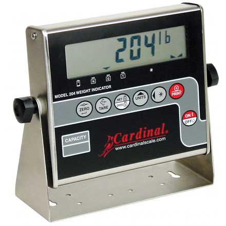 CARDINAL 204 WEIGHT INDICATOR