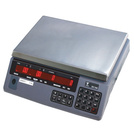 DIGI DC-788 HIGH RESOLUTION COUNTING BENCH SCALE