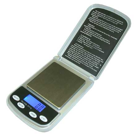 DS500 POCKET SCALE Very handy, portable pocket scale with high accuracy