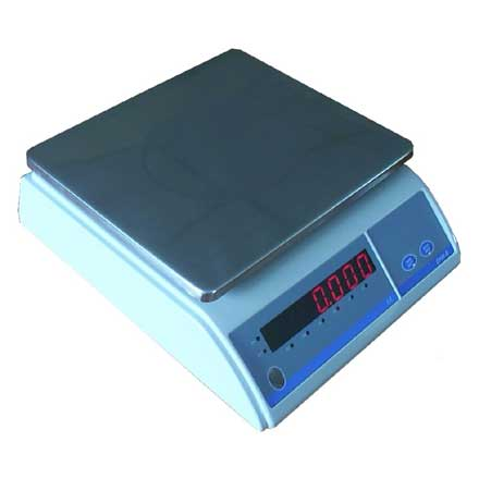 MEASURETEK EHW WEIGHING SCALE - *REDUCED PRICE STOCK* Low cost, simple to use portable electronic digital scale