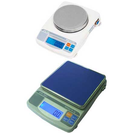 MEASURETEK EPS COMPACT BALANCE Handy compact balance with large backlit LCD display