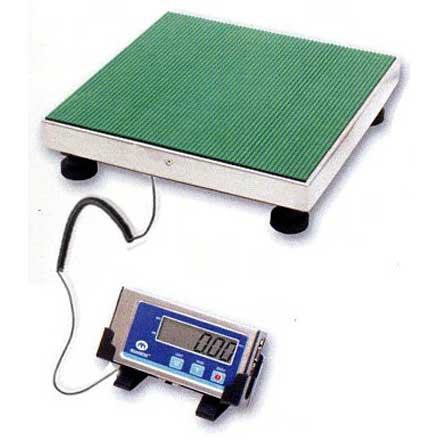 MEASURETEK PS-105 PARCEL SCALE Battery or mains operation with supplied adaptor