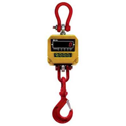 EXCELL FJ Series TRADE APPROVED REMOTE CONTROL CRANE SCALE