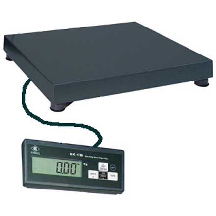 EXCELL SK130 VETERINARY SCALE SUITABLE FOR WEIGHING SMALLER ANIMALS