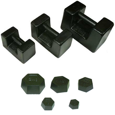 METRIC IRON HEXAGONAL & BAR WEIGHTS Premier quality Metric Hexagonal & Bar type calibration weights at huge discounts