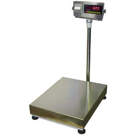 LOCOSC LPP Series GENERAL PURPOSE FLOOR SCALE WITH PRINTER