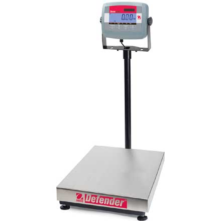 OHAUS DEFENDER 3000 *REDUCED PRICE STOCK* TRADE APPROVED BENCH OR FLOOR SCALE