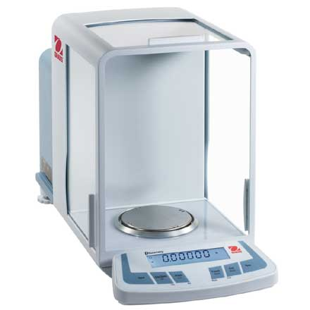 OHAUS DISCOVERY 4 & 5 PLACE ANALYTICAL BALANCE
