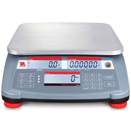 OHAUS RANGER 3000 COUNT TRADE APPROVED COUNTING SCALE