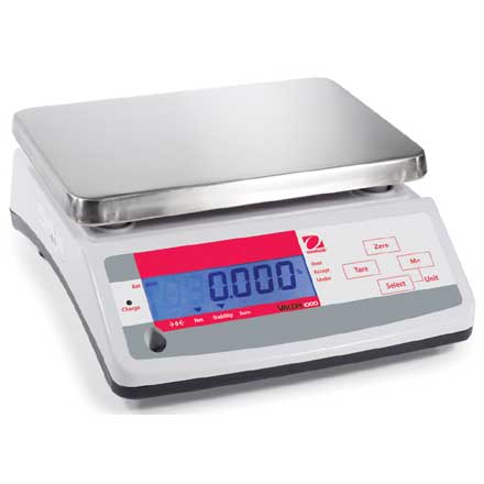 OHAUS VALOR 1000 COMPACT CHECKWEIGHING BENCH SCALES - REDUCED PRICE ITEM