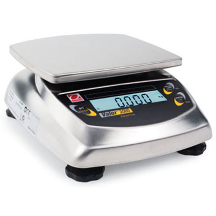 OHAUS VALOR 3000 COMPACT PRECISION BENCH SCALE
