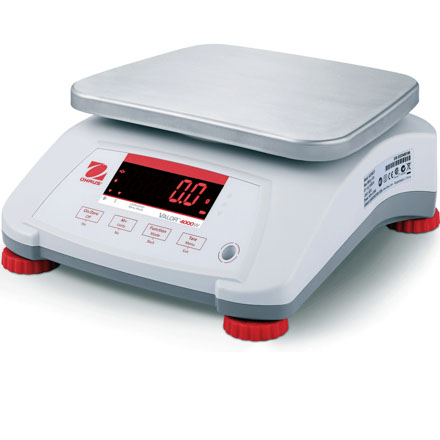 OHAUS VALOR 4000 WATERPROOF TABLE TOP SCALE