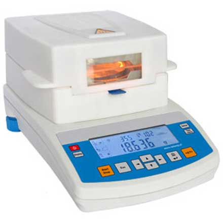 RADWAG MAC Series MOISTURE ANALYSER For determination of moisture content of relatively small sample