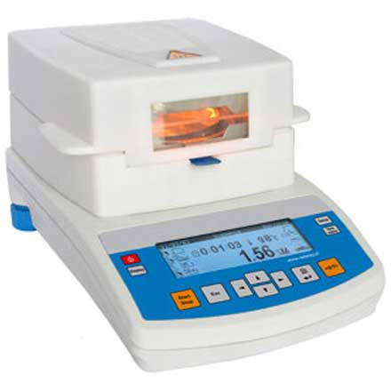 RADWAG MAX Series MOISTURE ANALYSER For determination of moisture content of relatively small samples