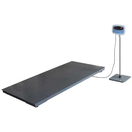 SALTER BRECKNELL PS-3000 FLOOR SCALE with OPTIONAL INDICATOR STAND