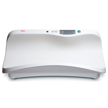 SECA 376 BABY SCALE Electronic baby scale with shell-shaped tray