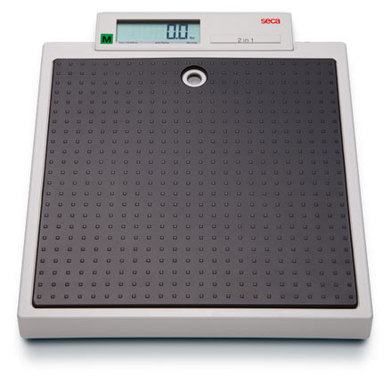 SECA MODEL 877 FLAT STYLE PERSONAL SCALE