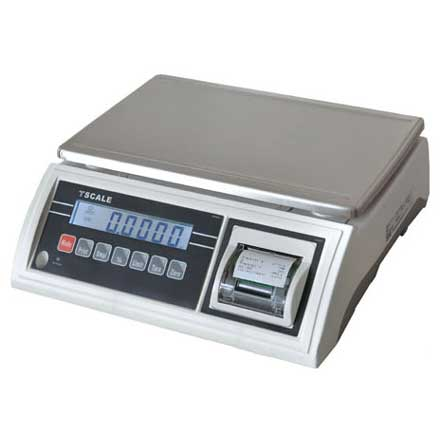 T-SCALE JWP Series BENCH SCALE with INBUILT TALLY ROLL PRINTER