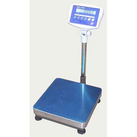 T-SCALE KW Series TRADE APPROVED BENCH - FLOOR SCALE WITH COLUMN
