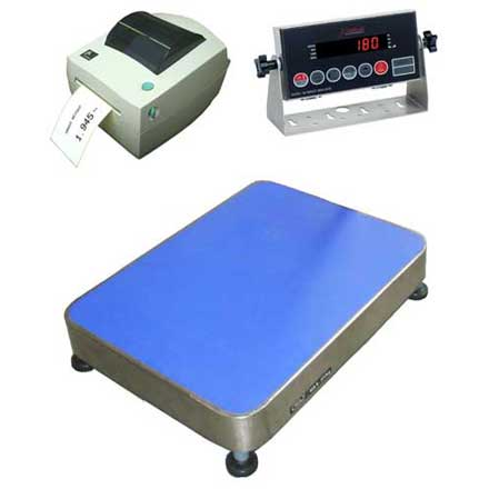 LBW 180LP LABEL PRINTING INDUSTRIAL FLOOR SCALES