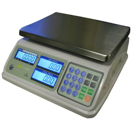 T-SCALE SP SERIES WATERPROOF DUAL CAPACITY RETAIL SCALES